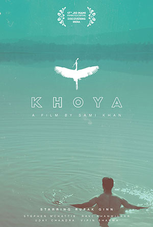 Co-Presenting the film, Khoya (Lost)